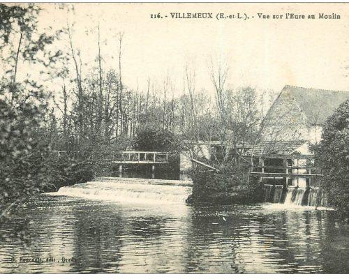 carte-postale-ancienne-28-villemeux-l-eure-au-moulin-1931